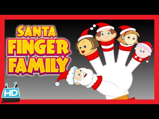 Santa Claus 'FINGER FAMILY SONG'