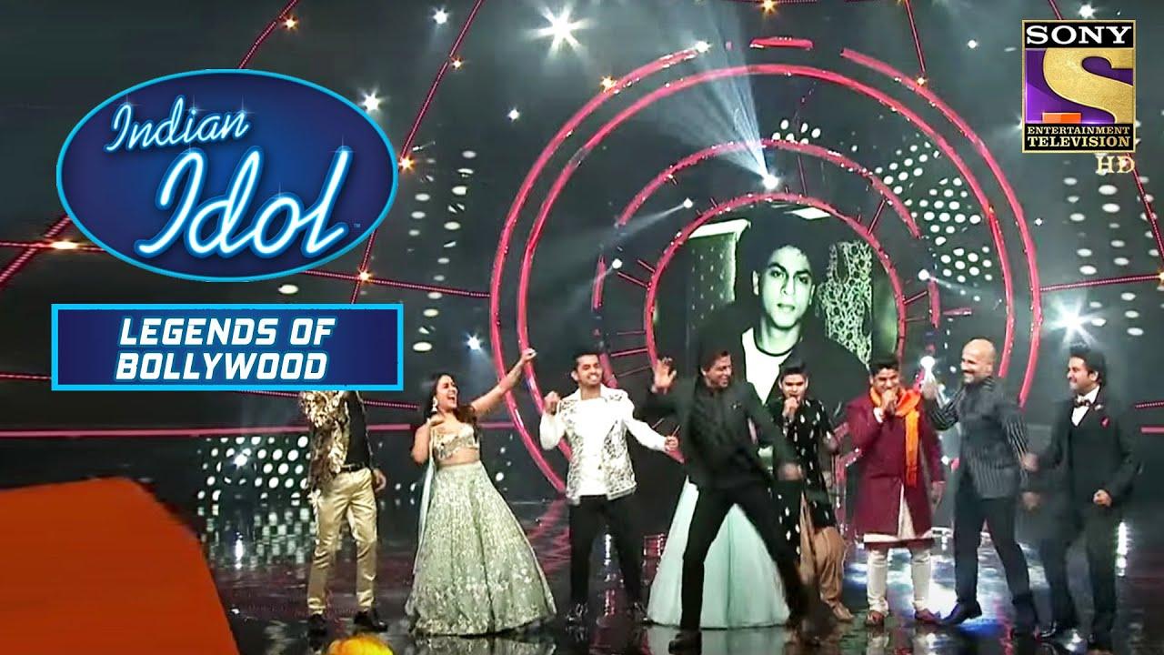 Download Shah Rukh Khan ने किया अपने इन Iconic गानों पर Dance!   Indian Idol   Legend Of Bollywood