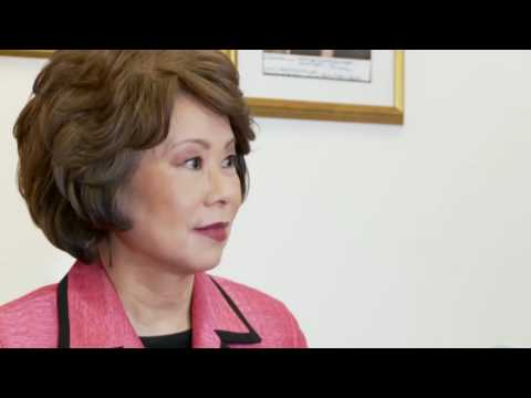 Interview with Elaine L. Chao (part 1)