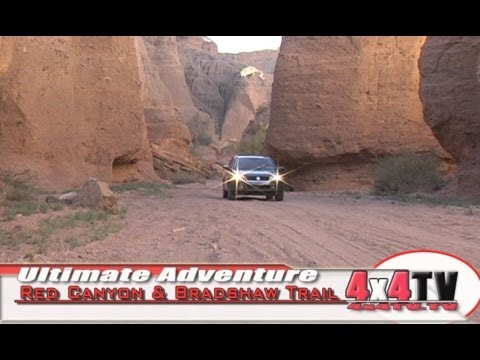 Red Canyon & The Bradshaw Trail P2  4x4TV Adventure Video