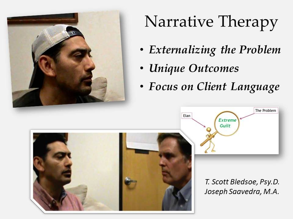 narrative therpay Jst institute is a threshold to training and education in brief narrative therapy, integrating therapeutic ideas and practices with social justice values and principles it is also the home of the journal of systemic therapies, which has been publishing collaborative, client-centered ideas and practices worldwide since 1981.