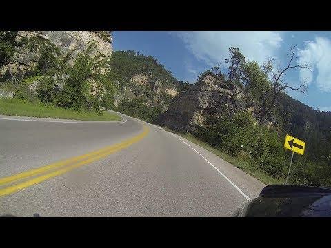Spearfish Canyon: South Dakota Motorcycle Ride