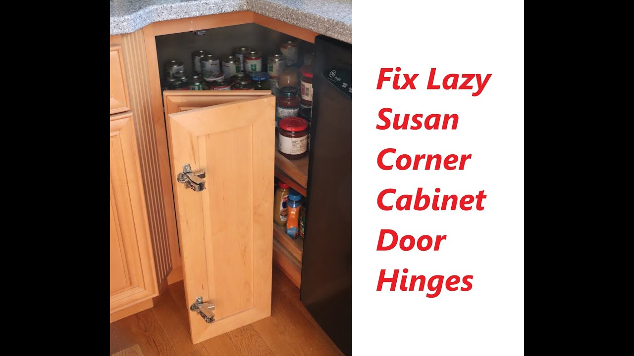 How To Select Correct Hinge Replacements For Lazy Susan Kitchen Cabinet Doors 165 Degree Or 170 Deg Youtube