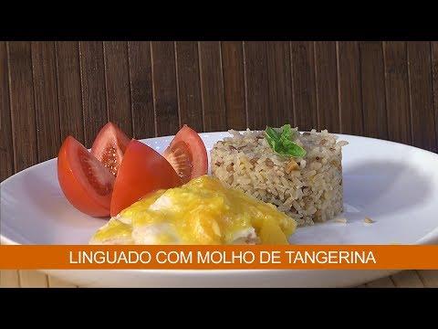 LINGUADO COM MOLHO DE TANGERINA E TILÁPIA AO MOLHO DE IOGURTE
