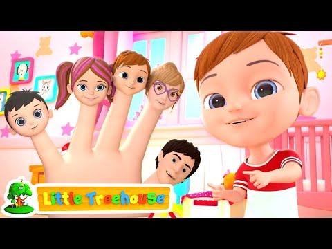 Finger Family Song | Nursery Rhymes & Music for Kids | Kindergarten Cartoons by Little Treehouse