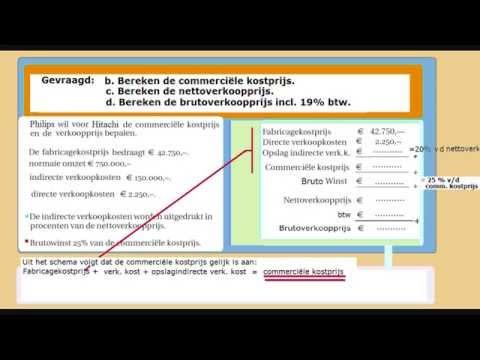 Hoe Kostprijs berekenen - KP 01