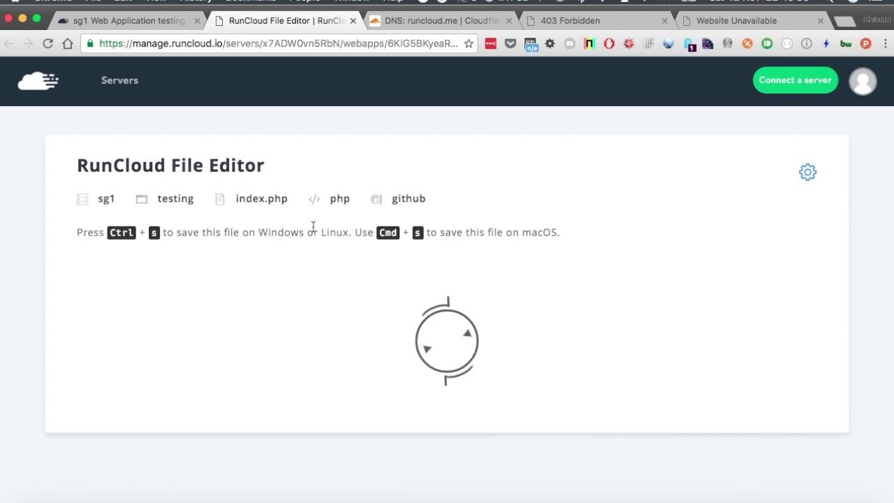 Setup PHP Server For Digital Ocean Using RunCloud