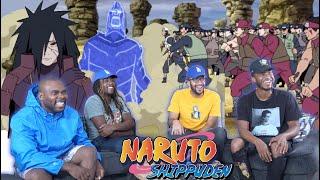 Madara vs Shinobi Alliance! Naruto Shippuden 321 & 322 REACTION/REVIEW