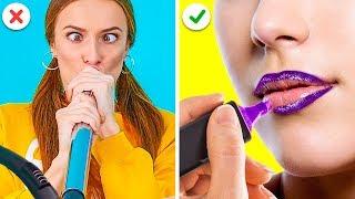 TRUCOS DE BELLEZA FÁCILES, PERO GENIALES    Tips y consejos de maquillaje por 123 GO! GOLD