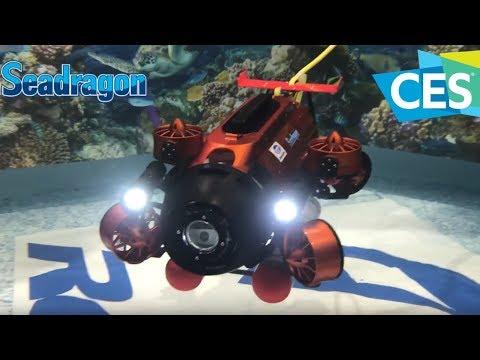 👽CES 2018 Seadragon ROV 6 thruster vectored Underwater Drone Thunder Tiger Robotix TTRobotix 雷虎科技