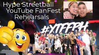 Nikay Vlog #4 Alex Wassabi Niana and more Rehearse with Hype Streetball #YTFFPH