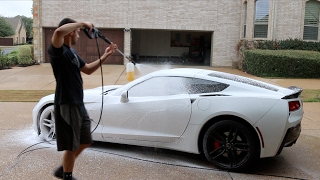Touchless Car Wash With Foam Cannon, Power Washer & Leaf Blower