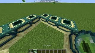 Как сделать портал в эндер мир в Minecraft 1.12.2