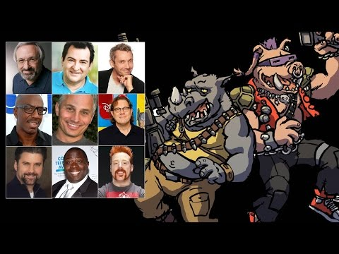 Comparing The Voices  Bebop & Rocksteady