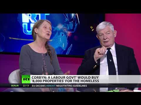 Corbyn: Labour government would buy 8,000 homes for homeless (Debate)