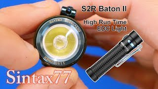 Olight S2R Baton II Review & Operation Guide (Giving one to a viewer)