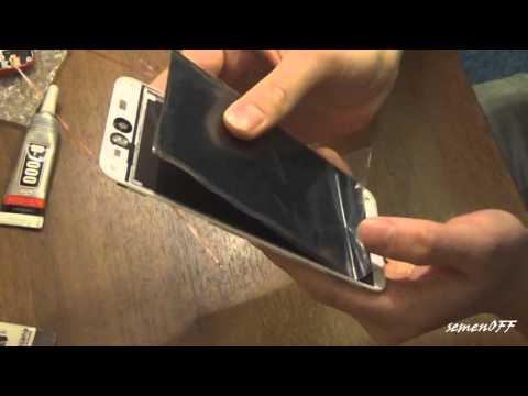 HTC Desire EYE Как открыть и заменить дисплей / How to open and replace display