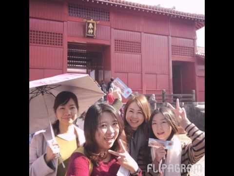 Okinawa with girls!
