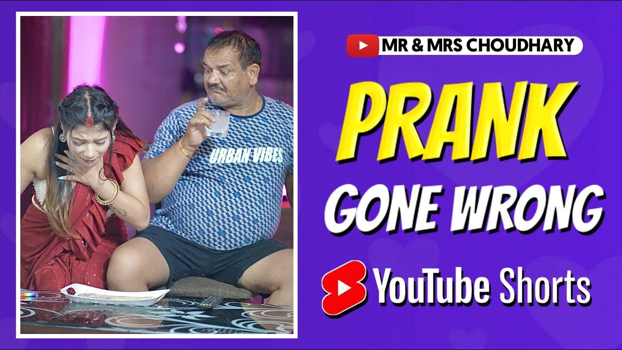 Prank Gone Wrong 😩 | #Shorts