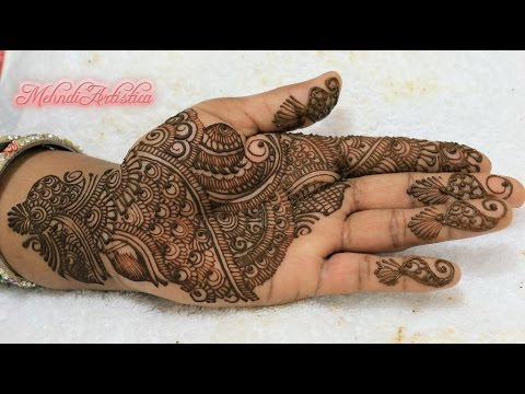 Easy Indian Mehndi Designs For Beginners Learn Step By Step Henna