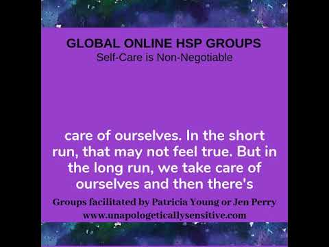 HSP Online Courses | Patricia Young