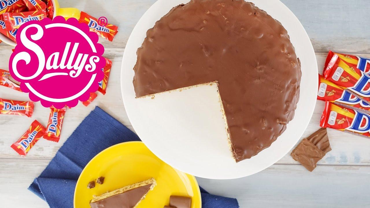 Daim Torte Almondy Nachgemacht Original Trifft Sally Youtube