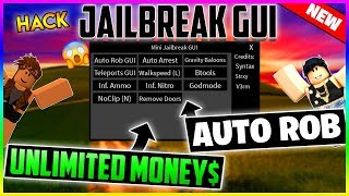 ✔️NEW✔️ ROBLOX HACK - JAILBREAK GUI - AUTO ARREST, AUTO ROB, GODMODE, BTOOLS AND MORE