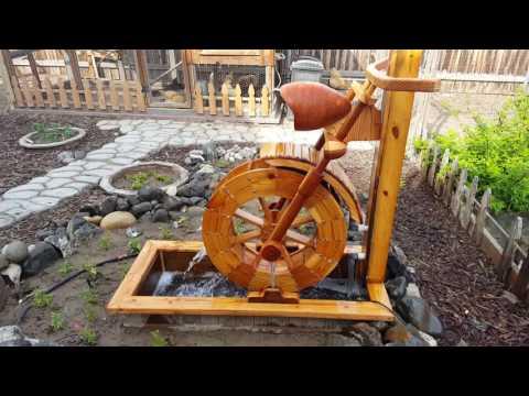 Honda VTX 1300 Motorcycle Water Wheel Water Feature