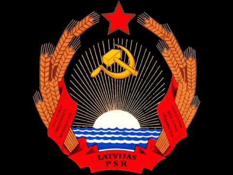 Anthem of the Latvian Soviet Socialist Republic