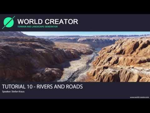 World Creator 2.2 for Unity - Tutorial 10 (Rivers and Roads)