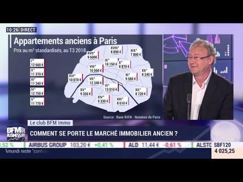 Evolution Du Marché Immobilier à Paris, Olivier Marin, 13 Février 2019