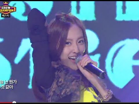 Bestie - Pitapat, 베스티 - 두근두근 Show Champion  20130731