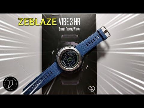 Zeblaze Vibe 3 Hr O Smartwatch Perfeito Para Quem Gosta De