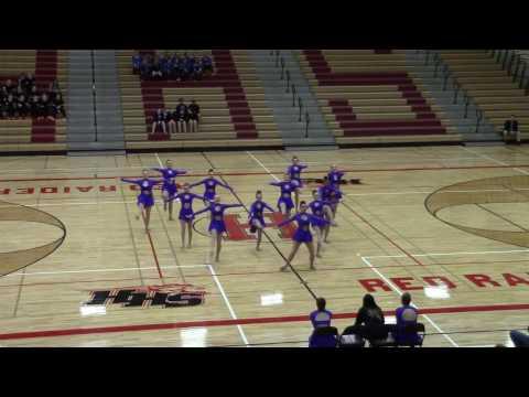 Sycamore High School Varsity Dance Team 01-21-2017