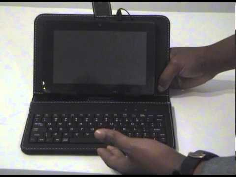 How to use the UKZN tablet