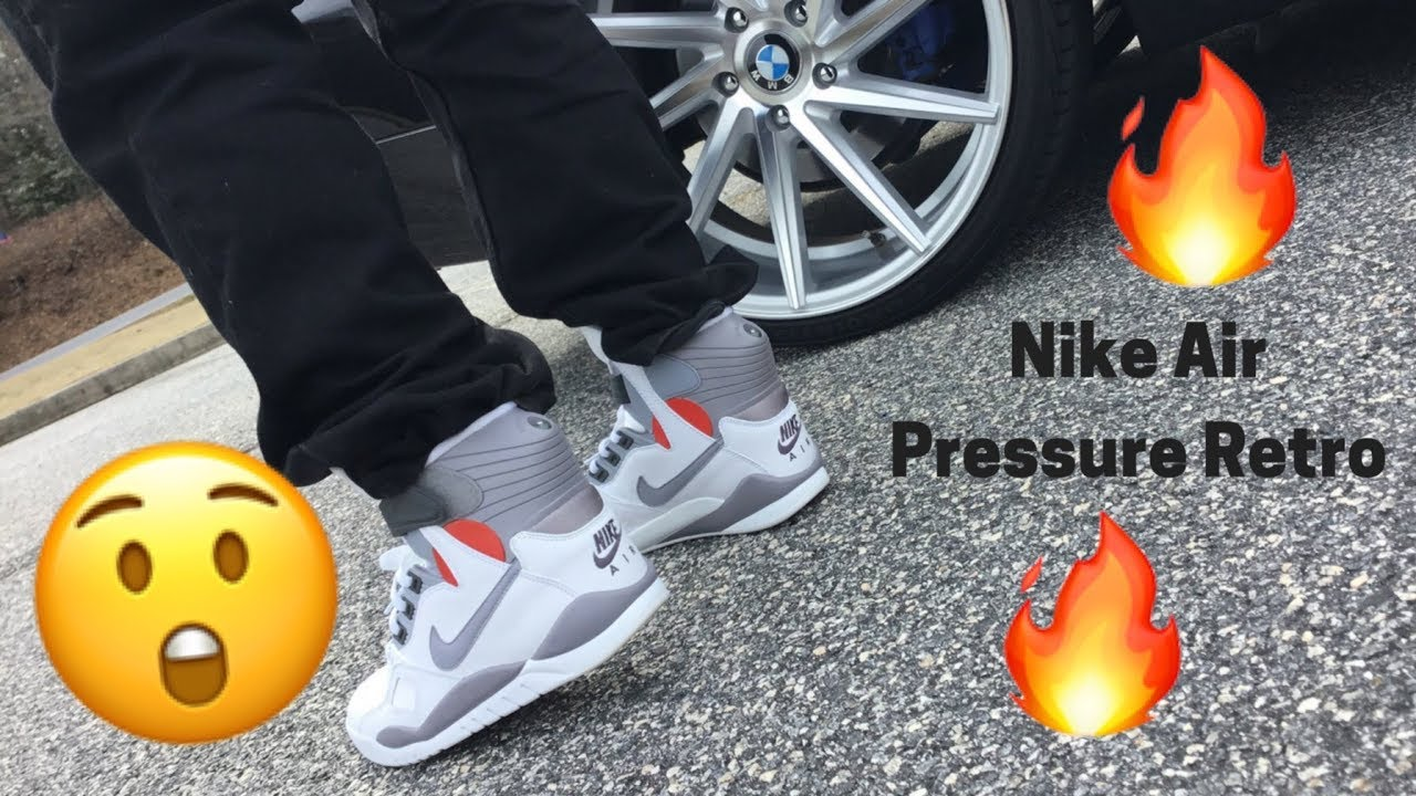 7ad05aa1ea9 Nike Air Pressure Review!! 2018 REVIEW - YouTube