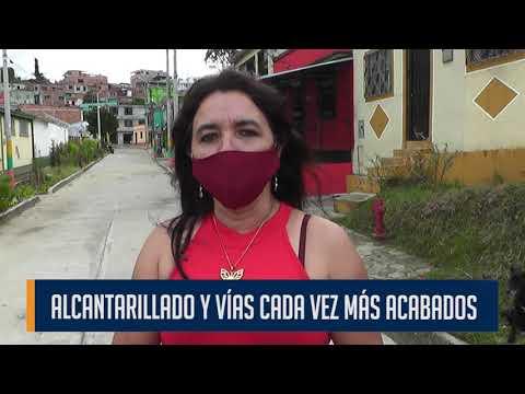 El deterioro del alcantarillado está causando serios líos en las vías del barrio Murillo Toro