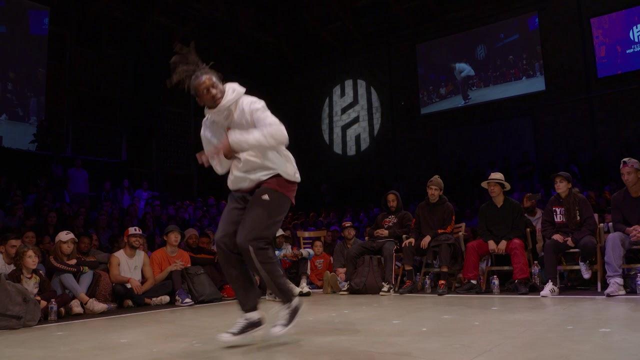 1/4 finale TOP ROCK : DORIAN (FRA) VS FRANKWA (FRA)