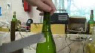 Re: How To open a bottle of Wine without a corkscrew