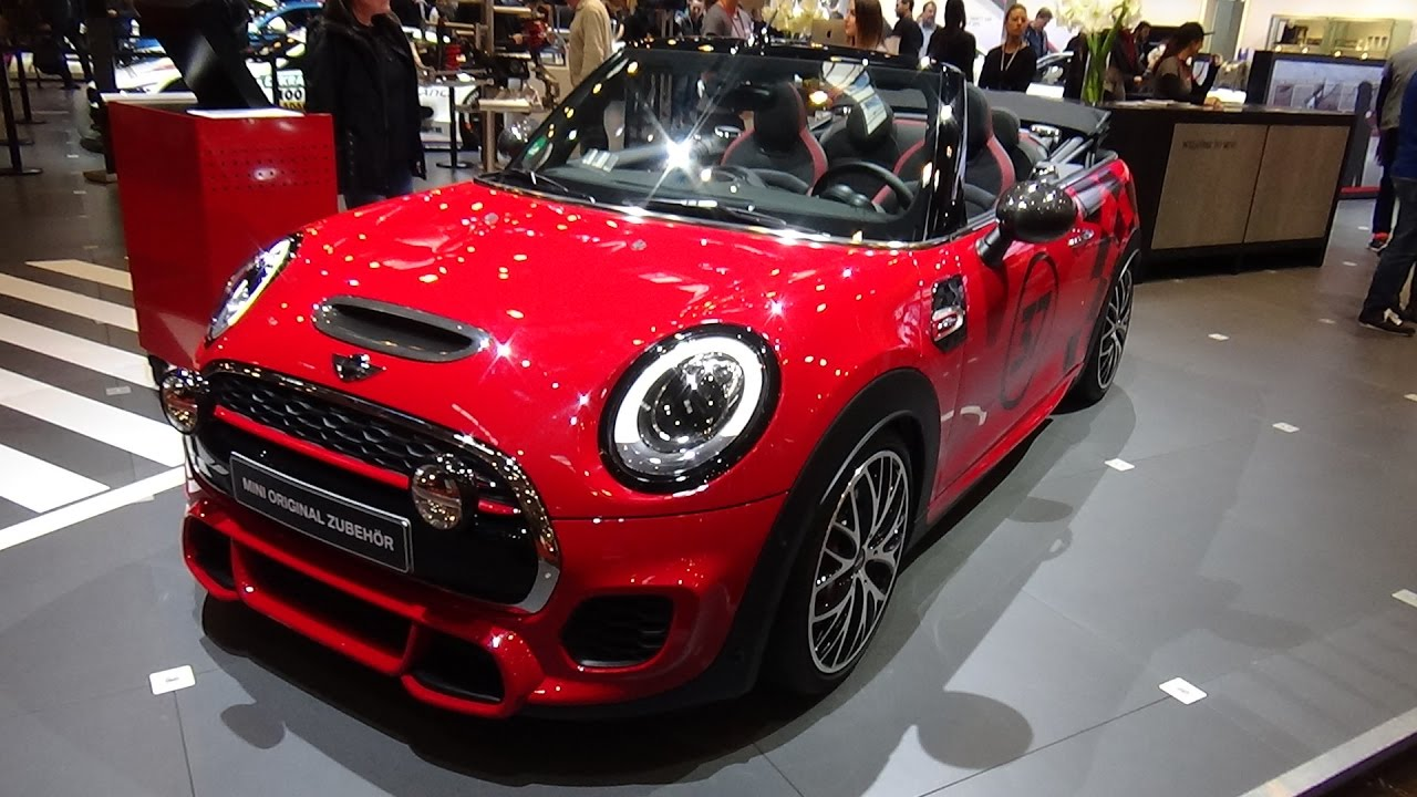 2017 Mini John Cooper Works Convertible Exterior And Interior Essen Motor Show 2016 You