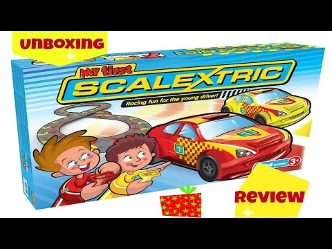 My First ScaleXtric Unboxing and Set up #Review