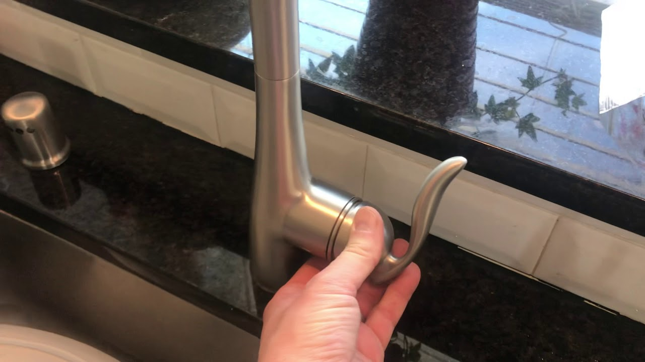 Loose Moen Kitchen Faucet Handle Fix 3