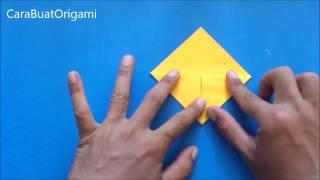 Cara Membuat Origami Topi Samurai | Origami Topi