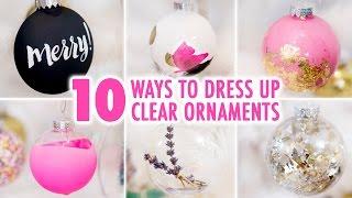 10 Ways To DIY a Clear Ornament - HGTV Handmade