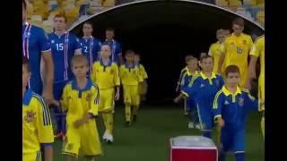 Украина - Исландия 1:1. Моменти Украины