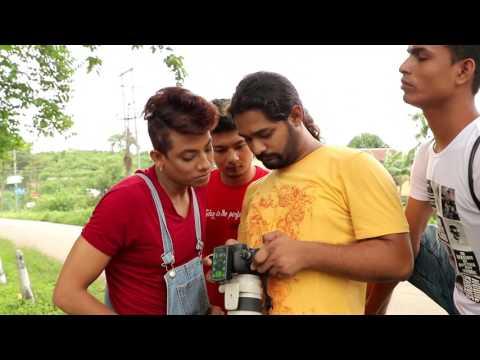 Unique Borah II Behind the shoot of Uday Shankar  Choreographer II