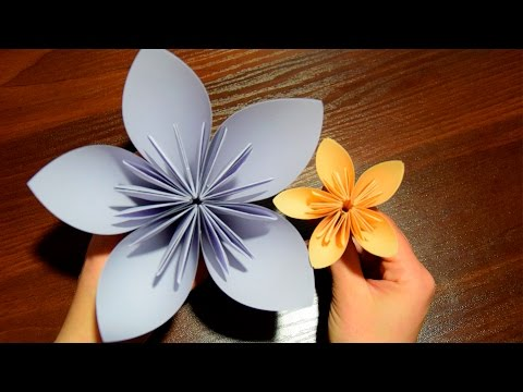 Paper Flower ✿ DIY Gift for Mom (Mother's Day)