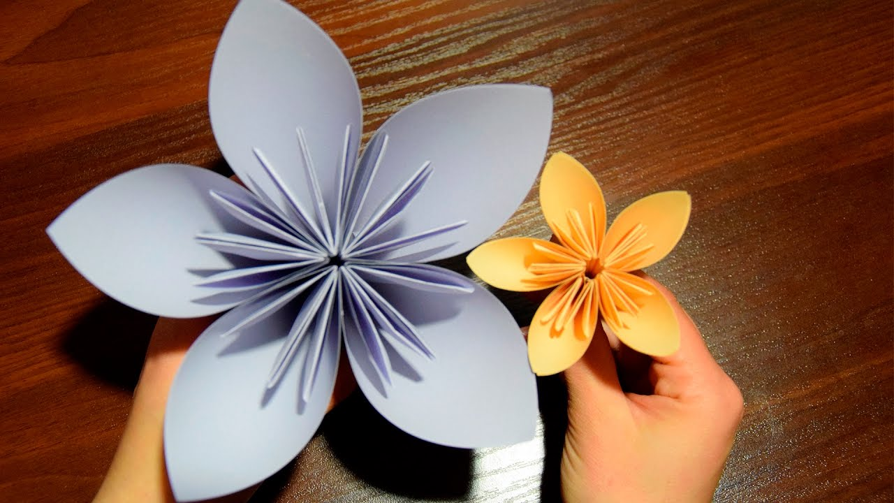 flower of paper diy gift for mom mother s day youtube