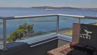 SOLD!!!! Seattle Penthouse, Alki Beach: Broker Georg Syvertsen (206)780-6153
