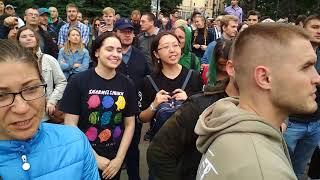 09 !!! Митинг 09.09 Петербург против пенсионной реформы.